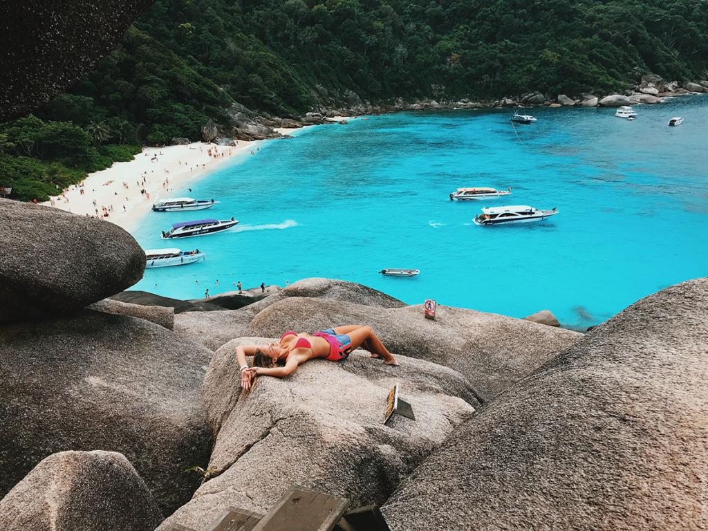 Красота на Симиланских островах