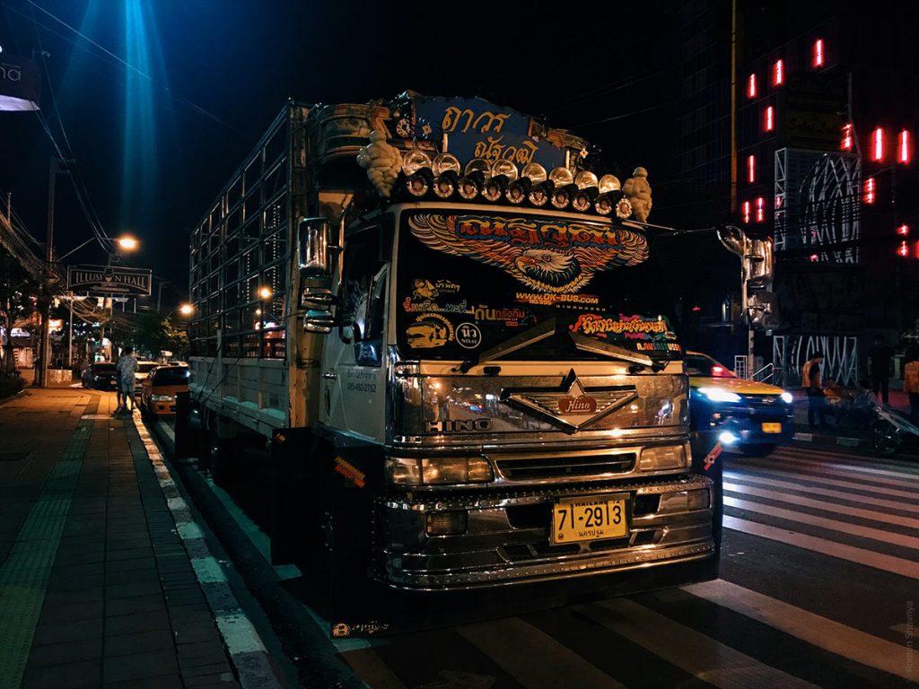 Тюнинг тайского грузовика