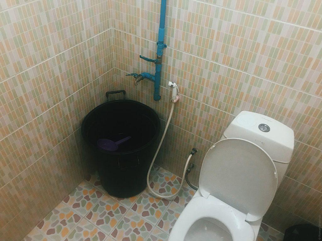 Туалет на Симиланских островах