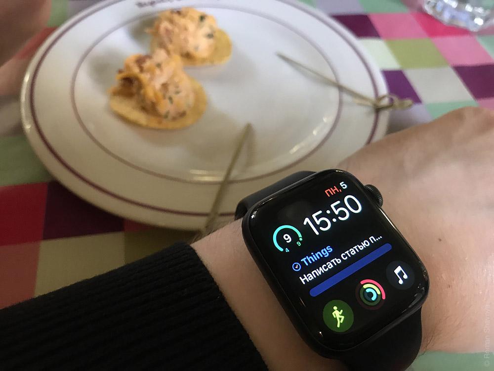 Честный обзор на Apple Watch