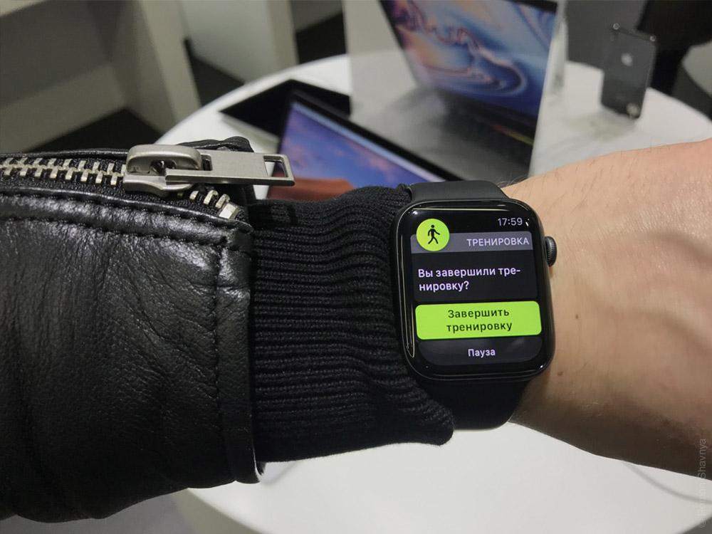 Честный обзор на Apple Watch S4