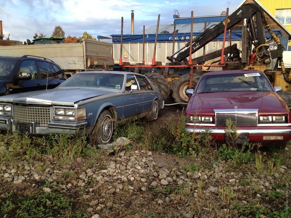 Машины из Америки в Каунасе