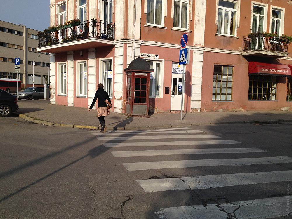 Телефонная будка в Каунасе