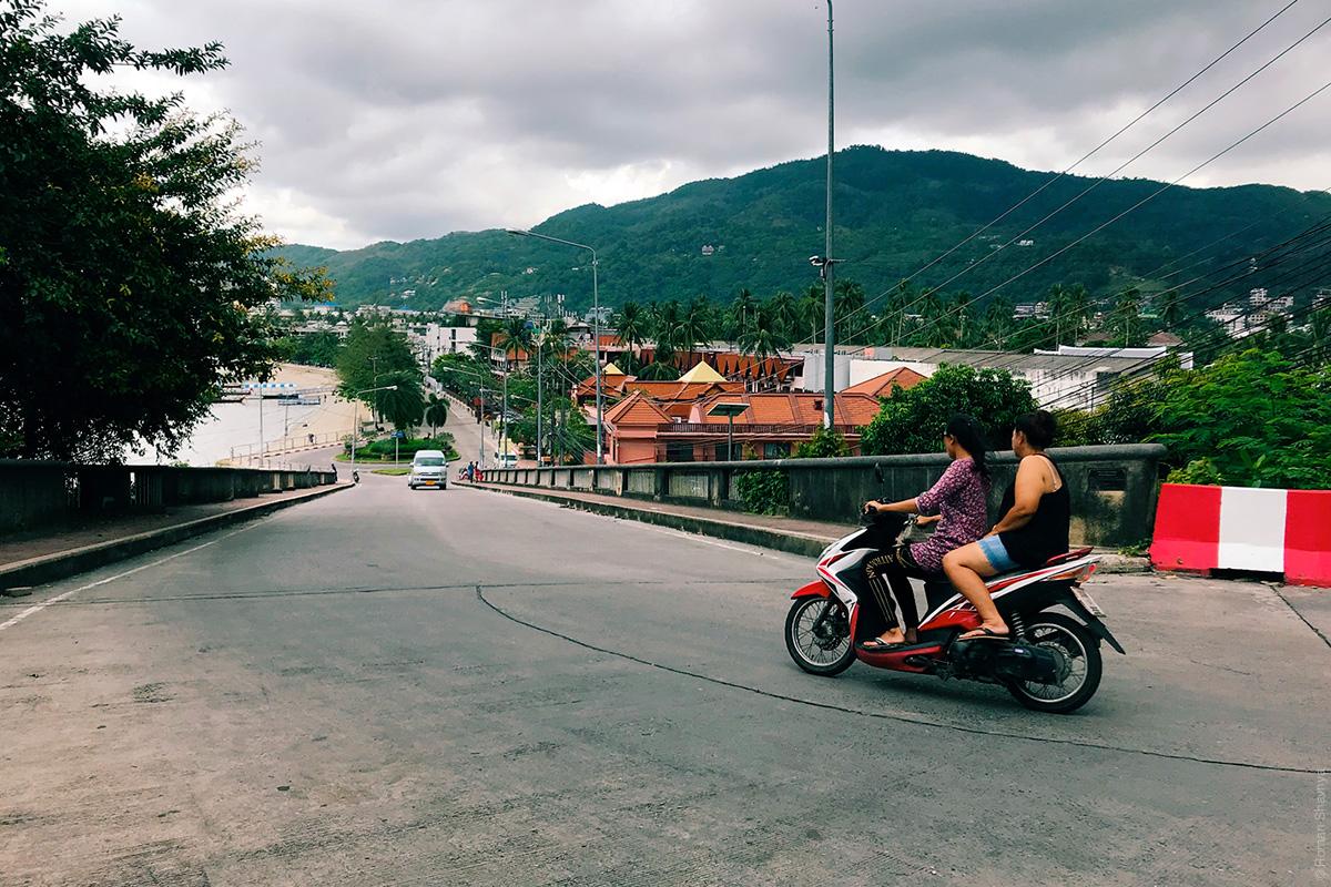 Скутер на Пхукете
