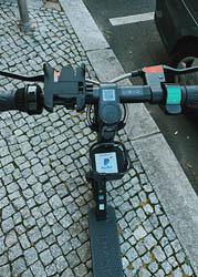Электросамокат в Берлине