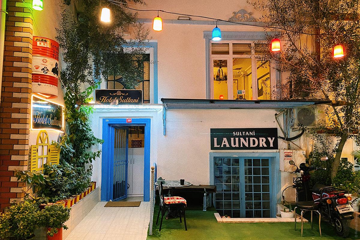 Отель в исторической части Стамбула
