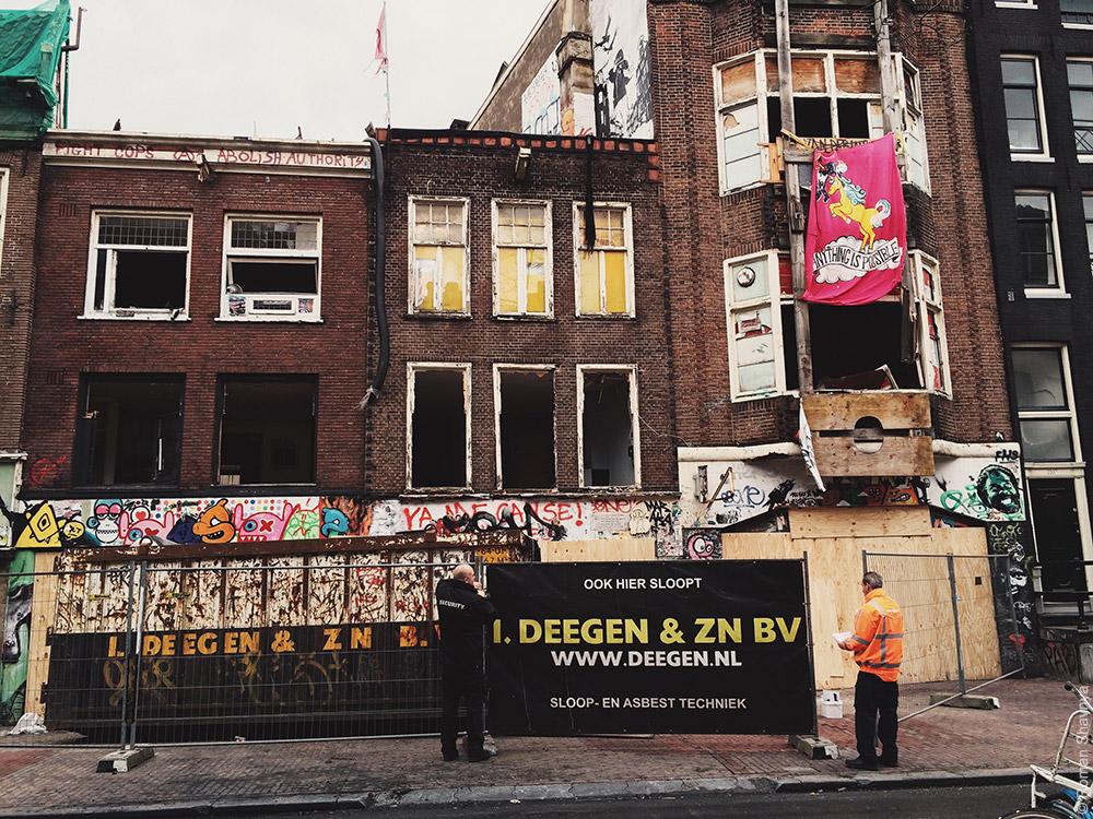 Ремонт дома в Амстердаме
