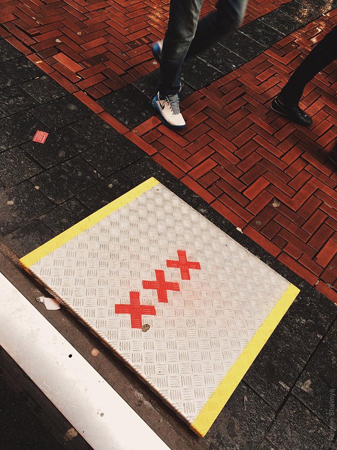 Пандус при входе в магазин в Амстердаме