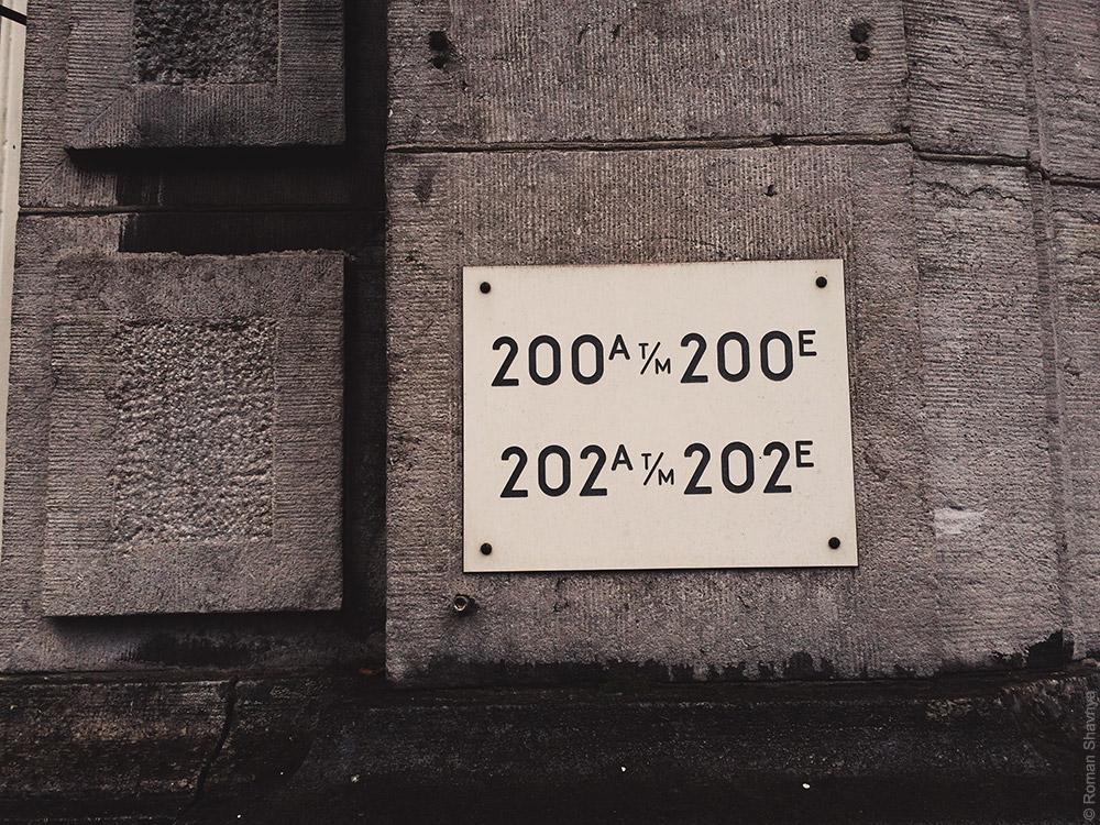 Нумерация домов в Амстердаме