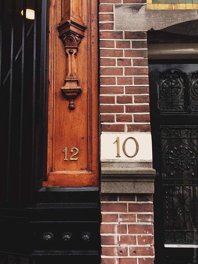 Номера домов в Амстердаме