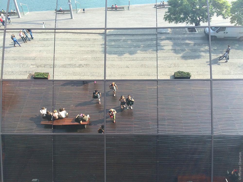 Селфи в Барселоне