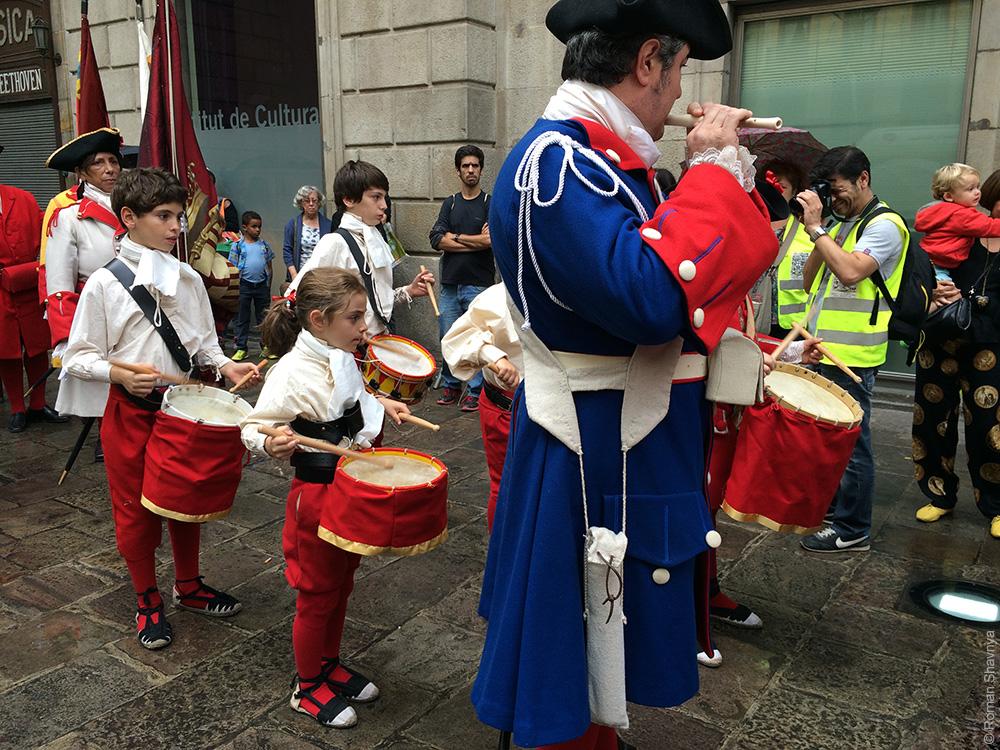 Национальный праздник в Барселоне