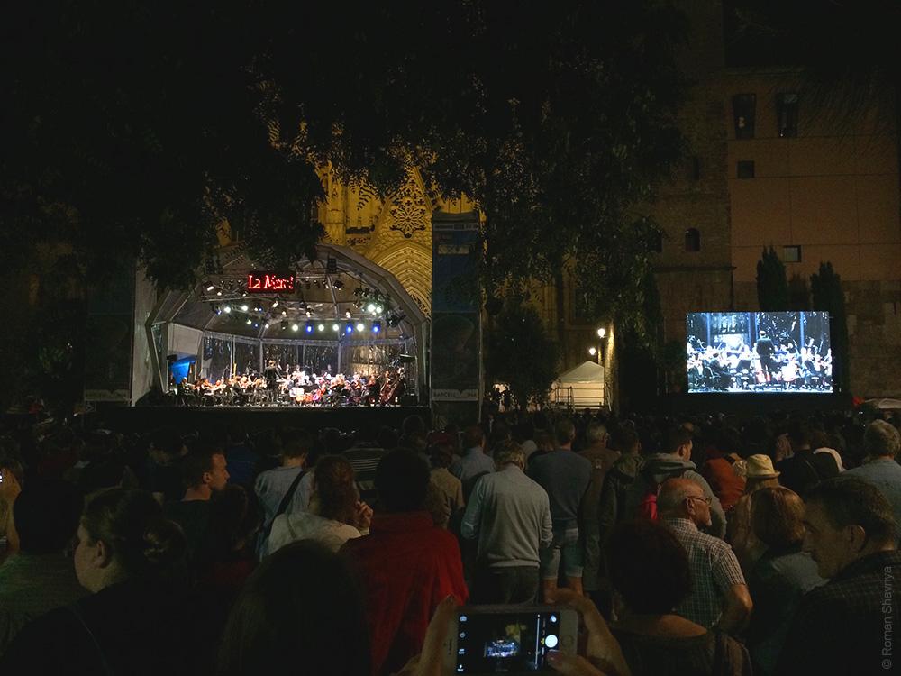 Симфонический оркестр в Барселоне