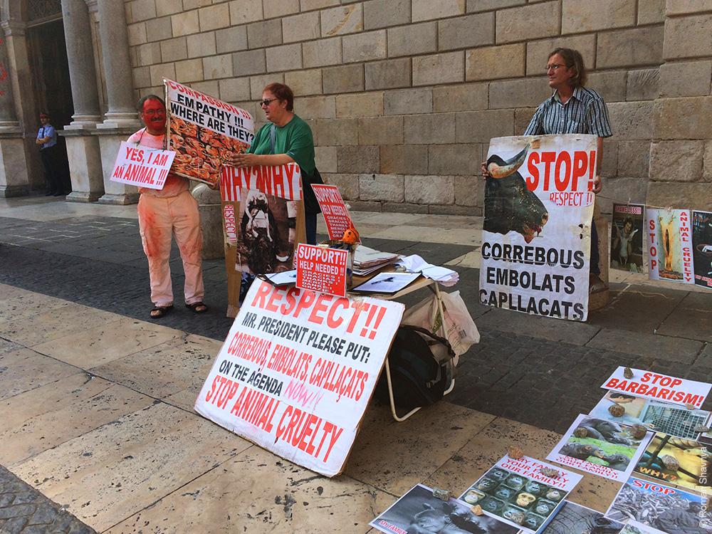 Протестанты в Барселоне