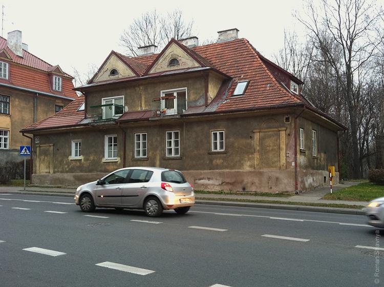 Старое здание в Белостоке