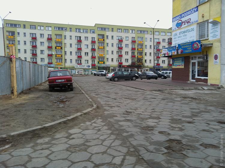 Жилой район в Белостоке