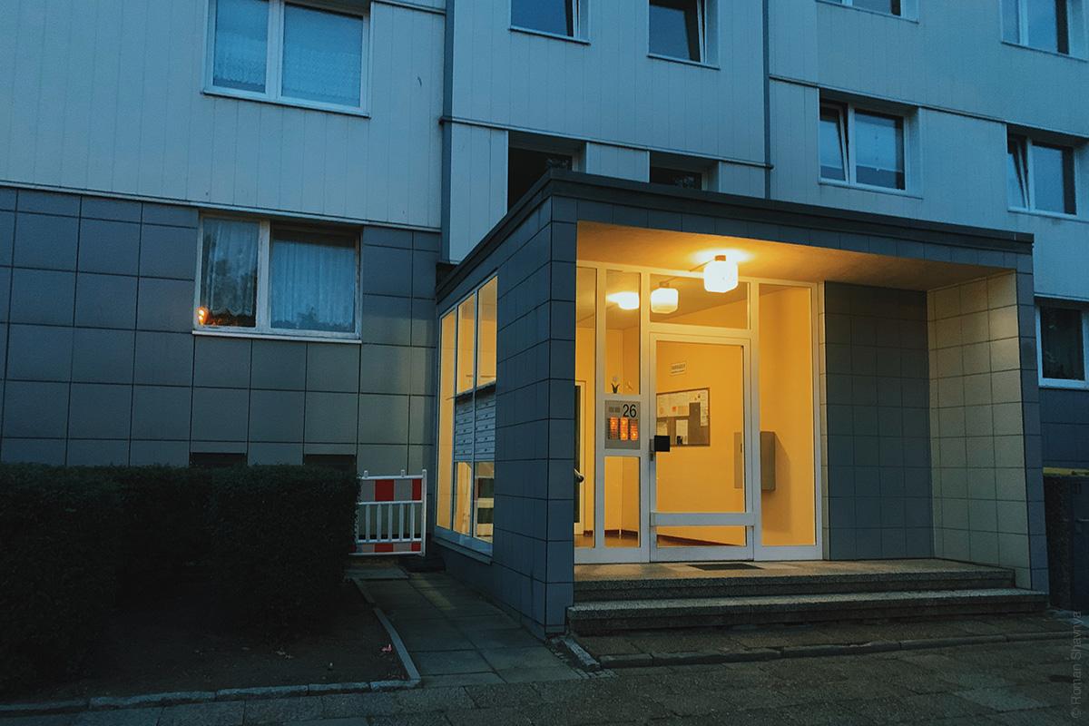 Entrance to Berlin
