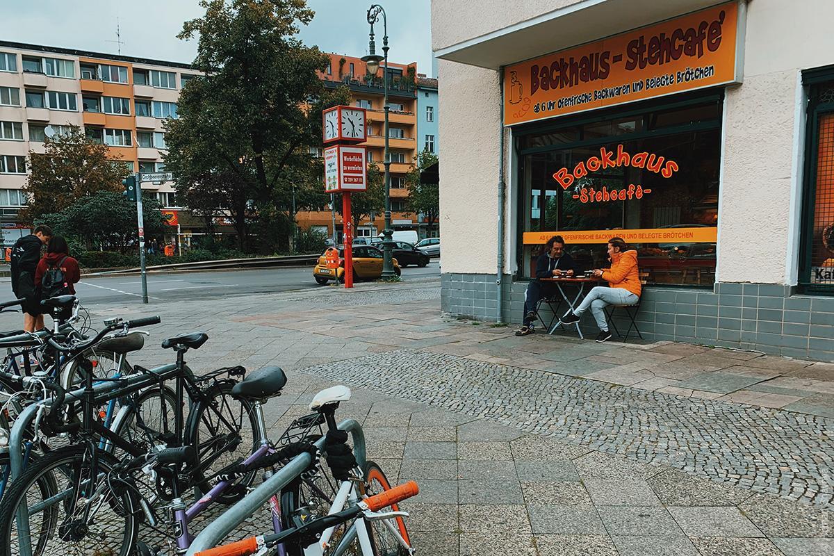 Cafe in Berlin
