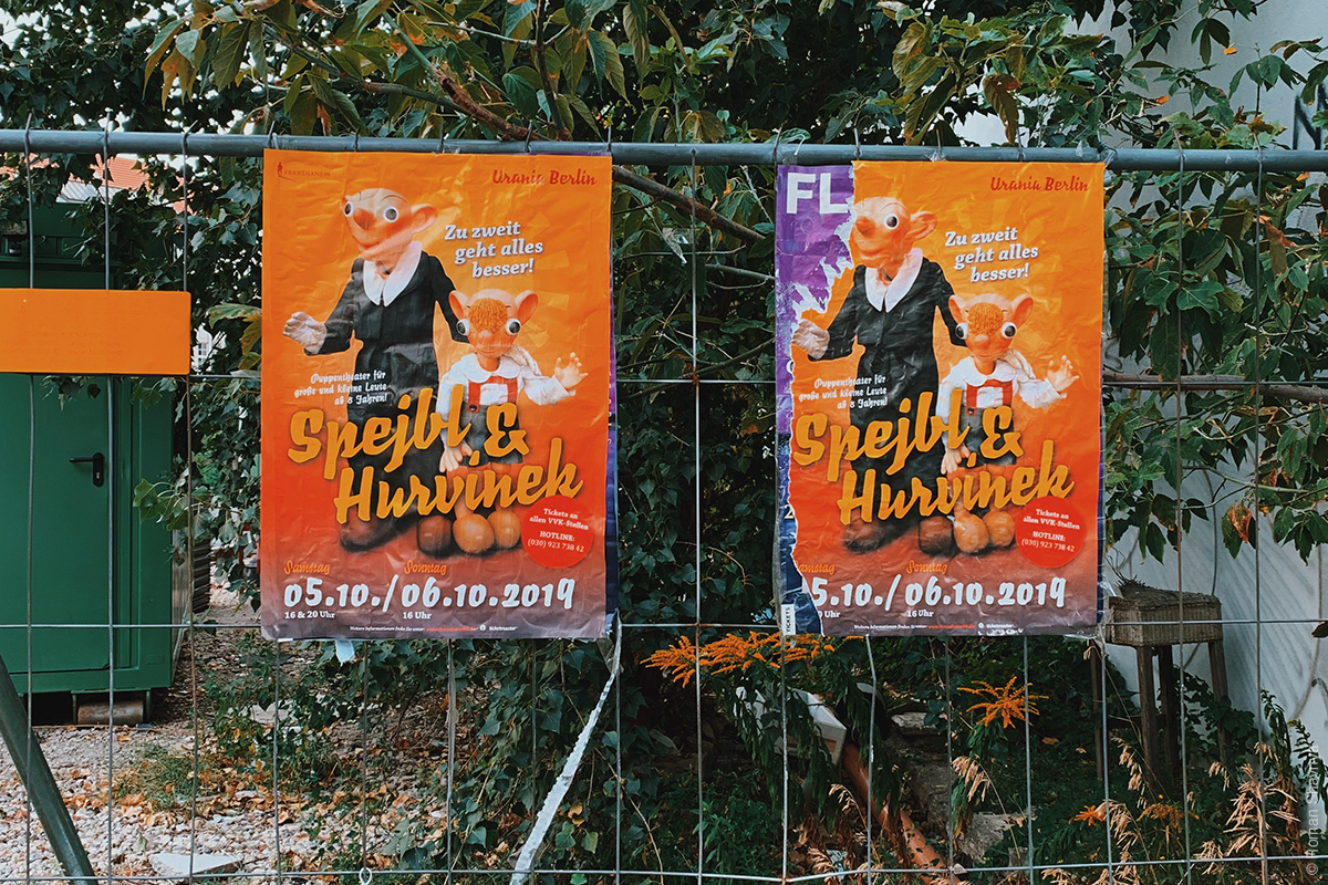 Poster in Berlin