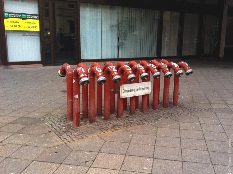 Гидранты в Дюссельдорфе