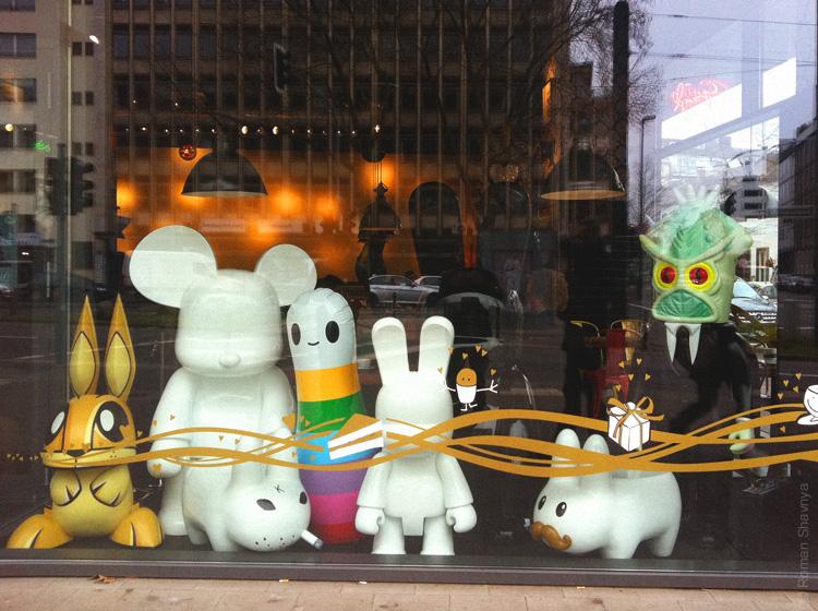 Детские игрушки в Дюссельдорфе