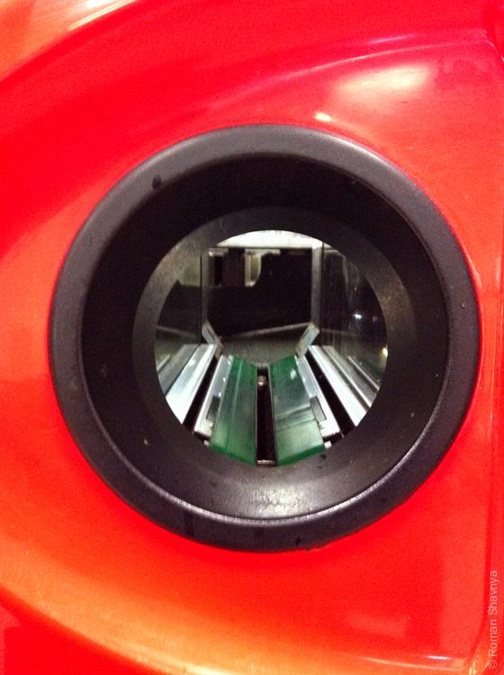 Автомат для принятия стеклотары в Дюссельдорфе