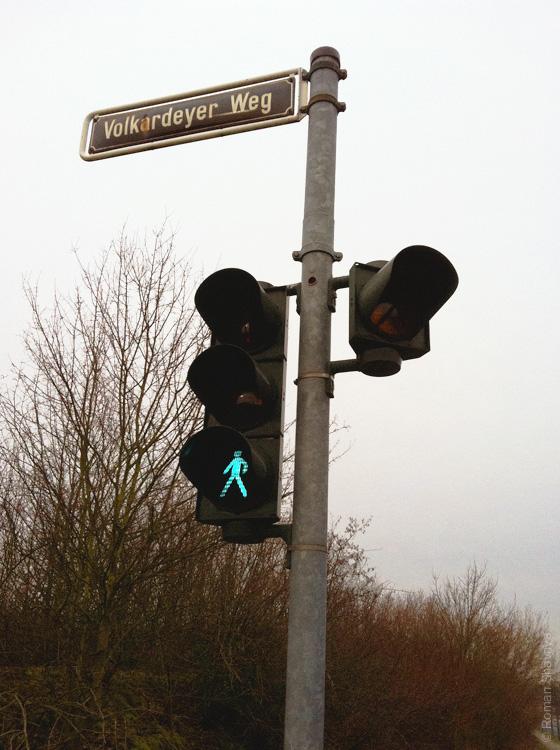 Светофор в Дюссельдорфе