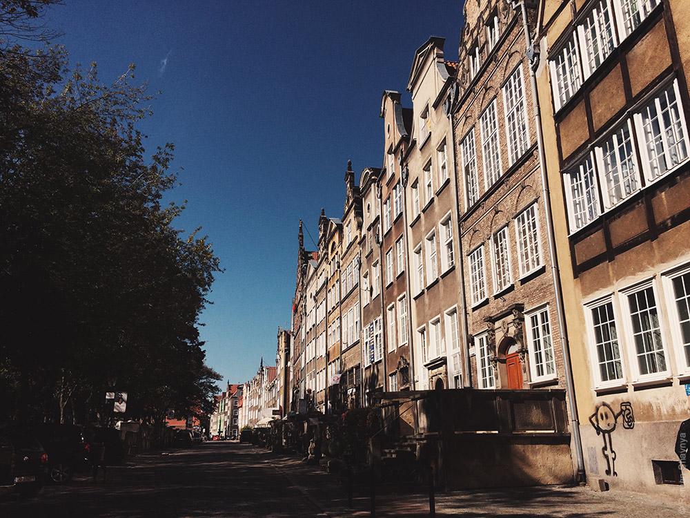 Как выглядят дома в Гданьске