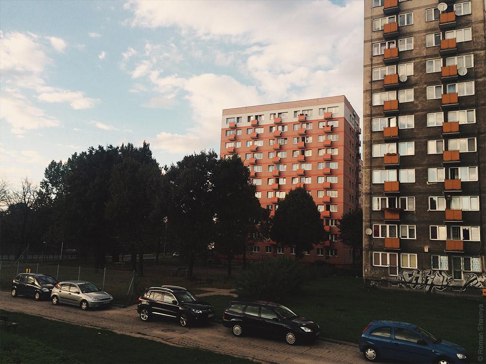 Панельный дом в Гданьске