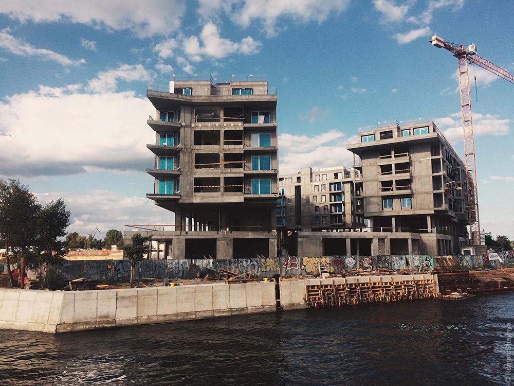 Строительство новых домов в Гданьске