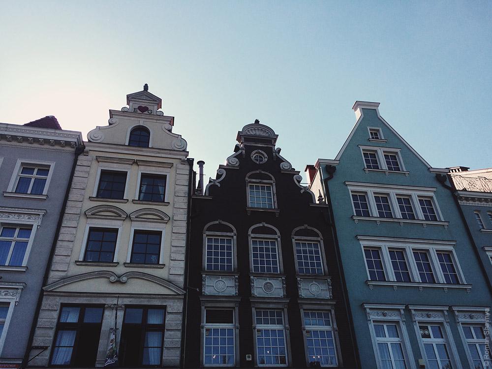 Старый город в Гданьске