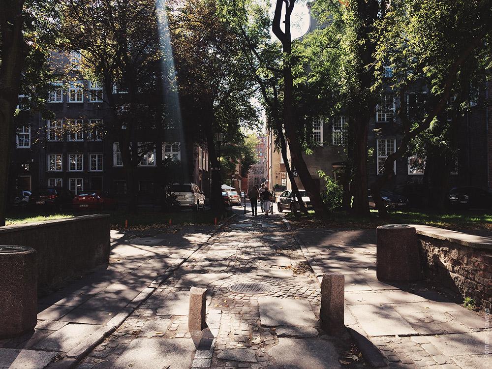 Луч света в Гданьске