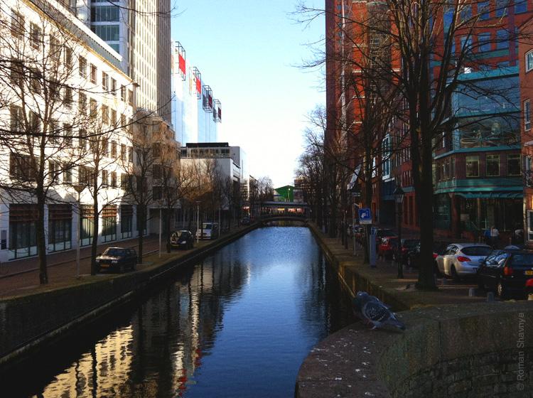 Канал в Гааге