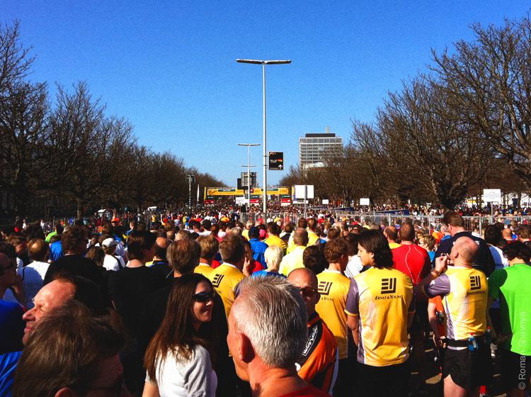 Соревнование по бегу в Гааге