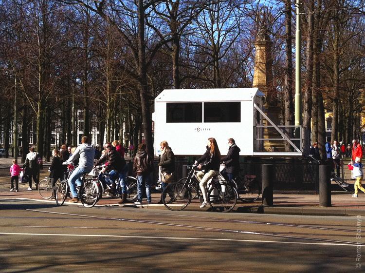 Полицейская будка в Гааге