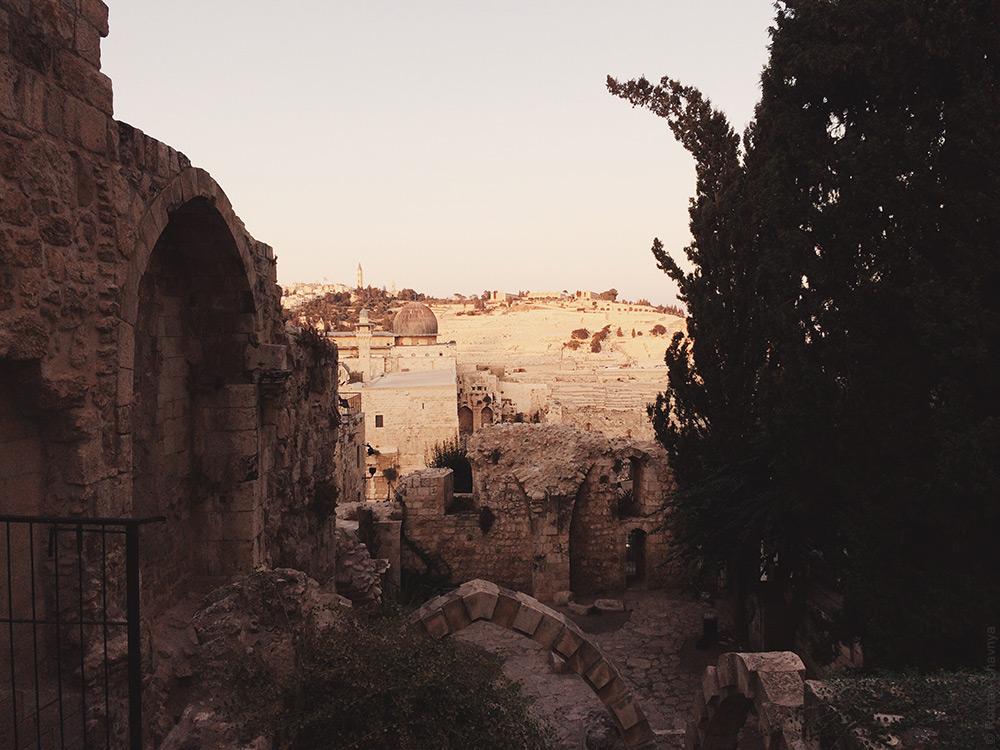 Красиво в Иерусалиме