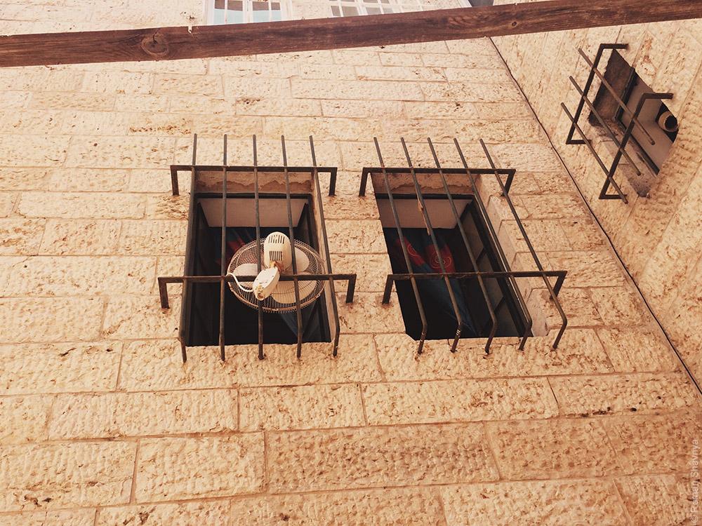 Вместо кондиционера в Иерусалиме