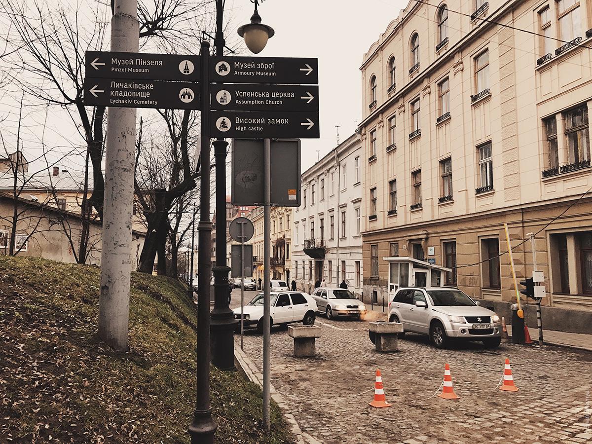 Навигация во Львове