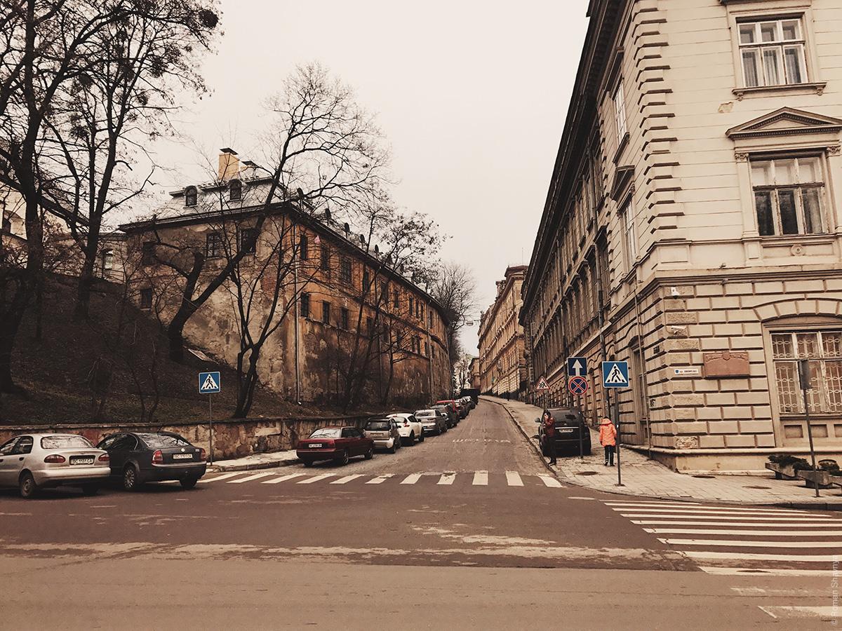 Улица во Львове