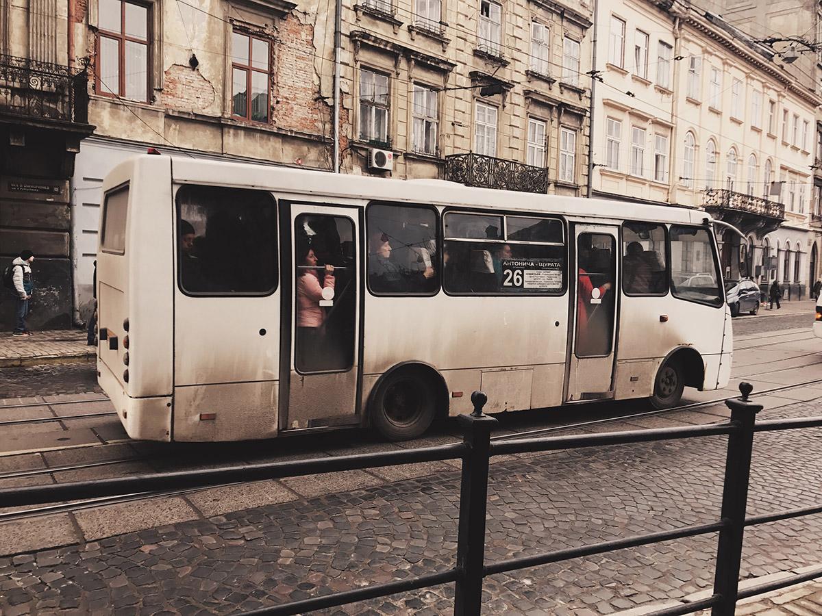 Маршрутки во Львове