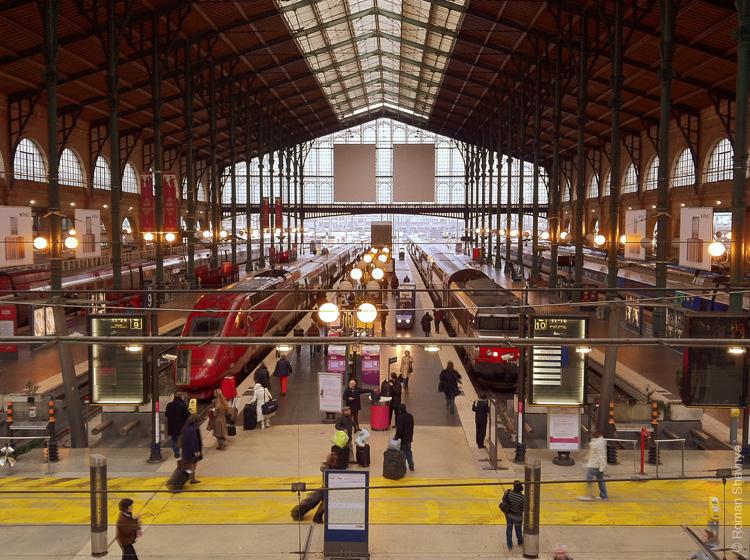 Серверный вокзал в Париже