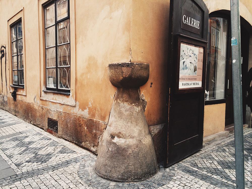 Закругленный угол в Праге