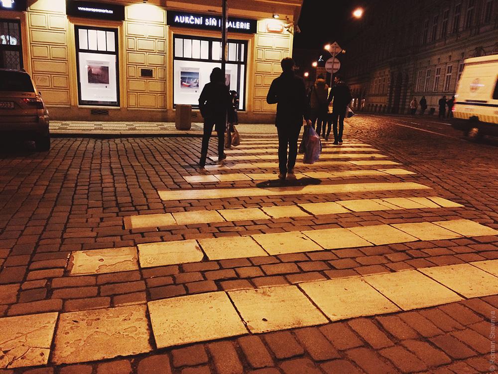 Переходный переход в Праге