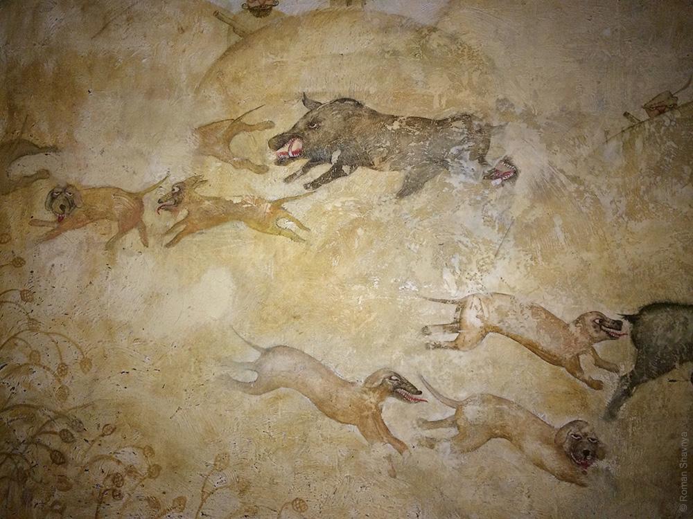 Настенная живопись в Рижском Лидо