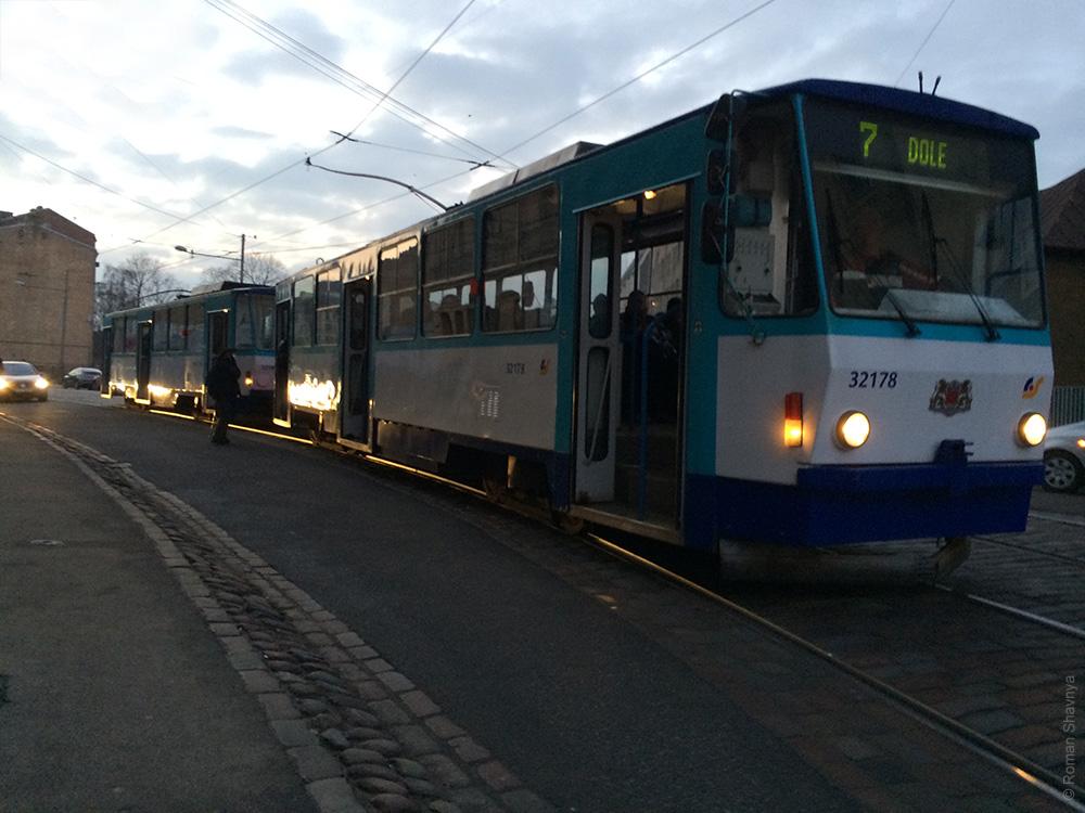 Рижский трамвай