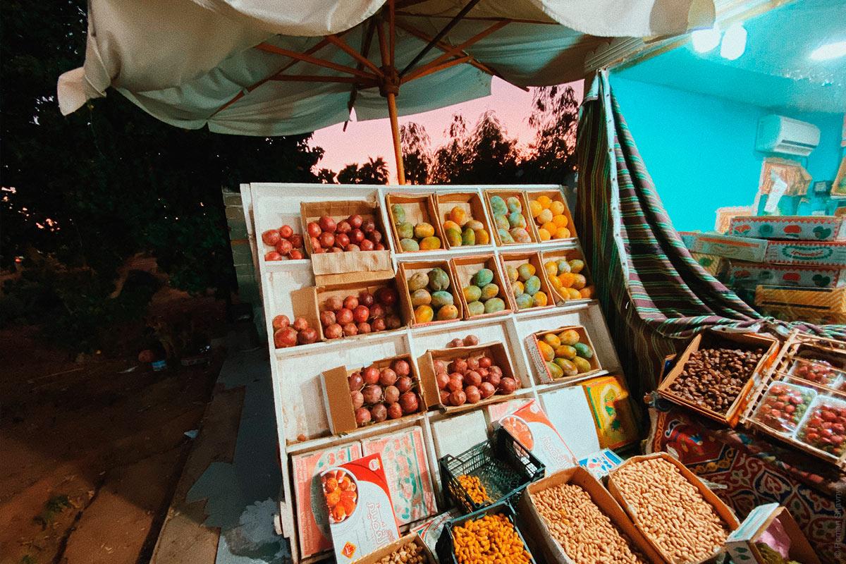 Магазин с фруктами в Шарм-эль-Шейх