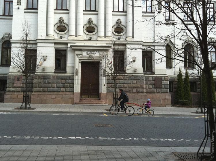 Подъёмы и спуски в Вильнюсе