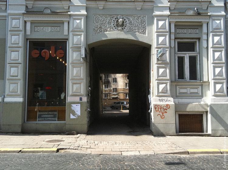 Внутренние дворы в Вильнюсе