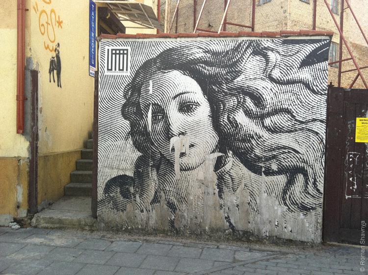 Венера Боттичелли в Вильнюсе | Venere del Botticelli Vilnius