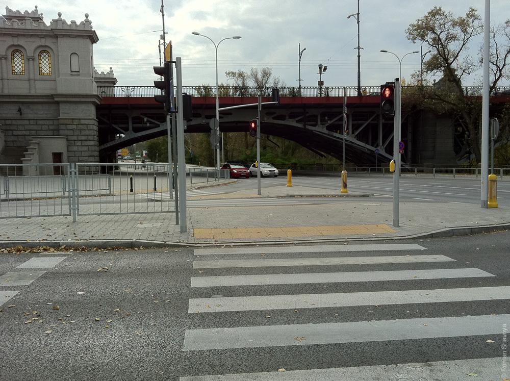 Пешеходный переход в Варшаве